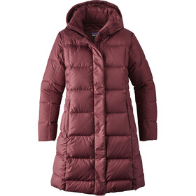 Patagonia W's Down With It Parka Dark Ruby